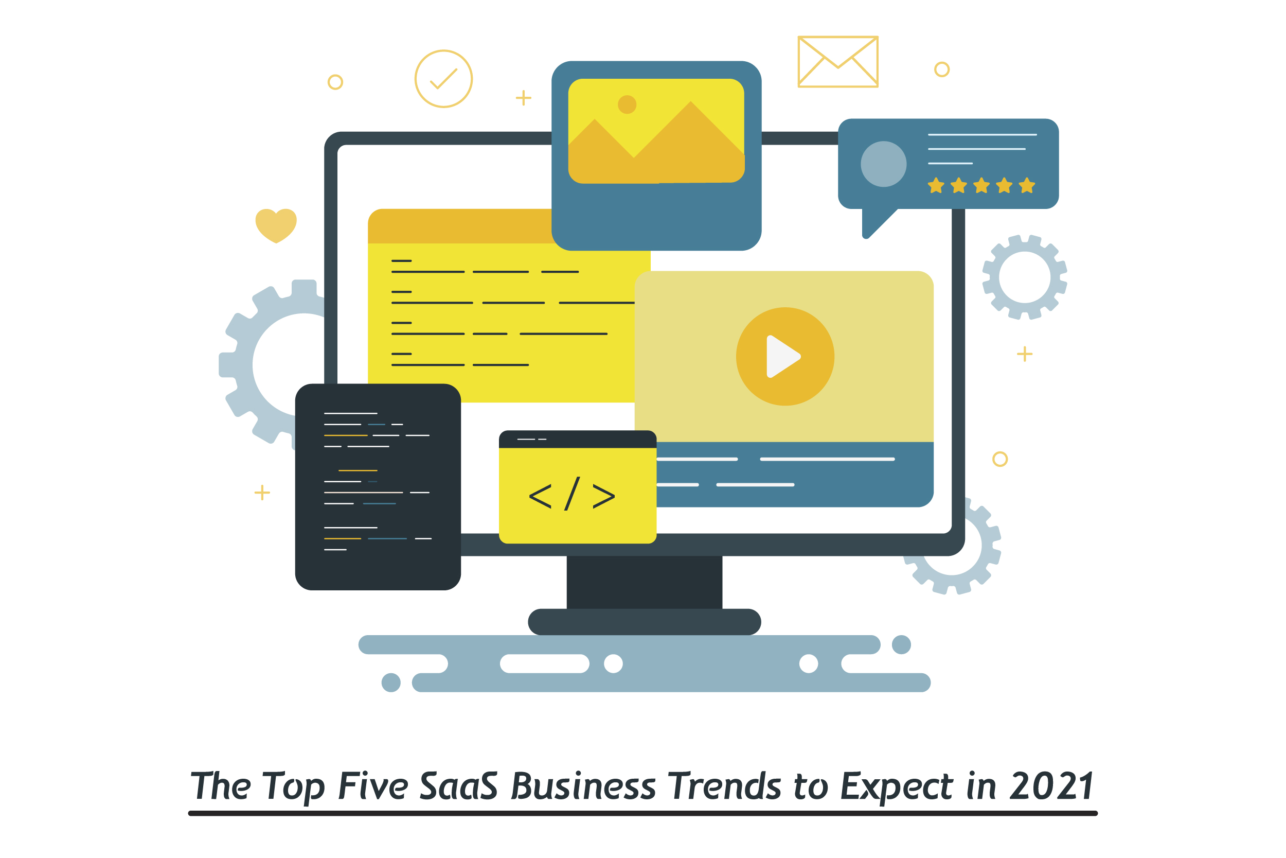 The Top Five SaaS Business Trends to Expect in 2021